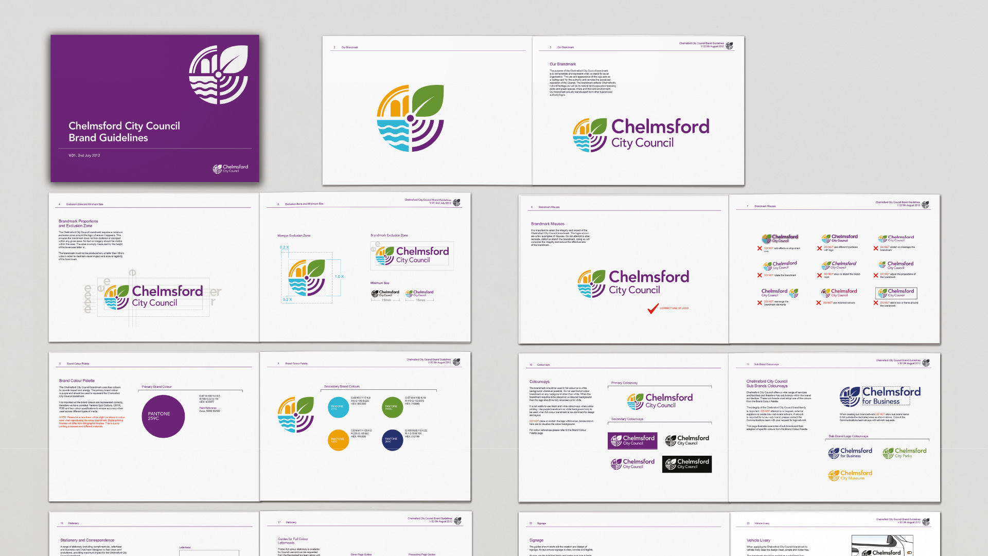 city brand identity guidelines