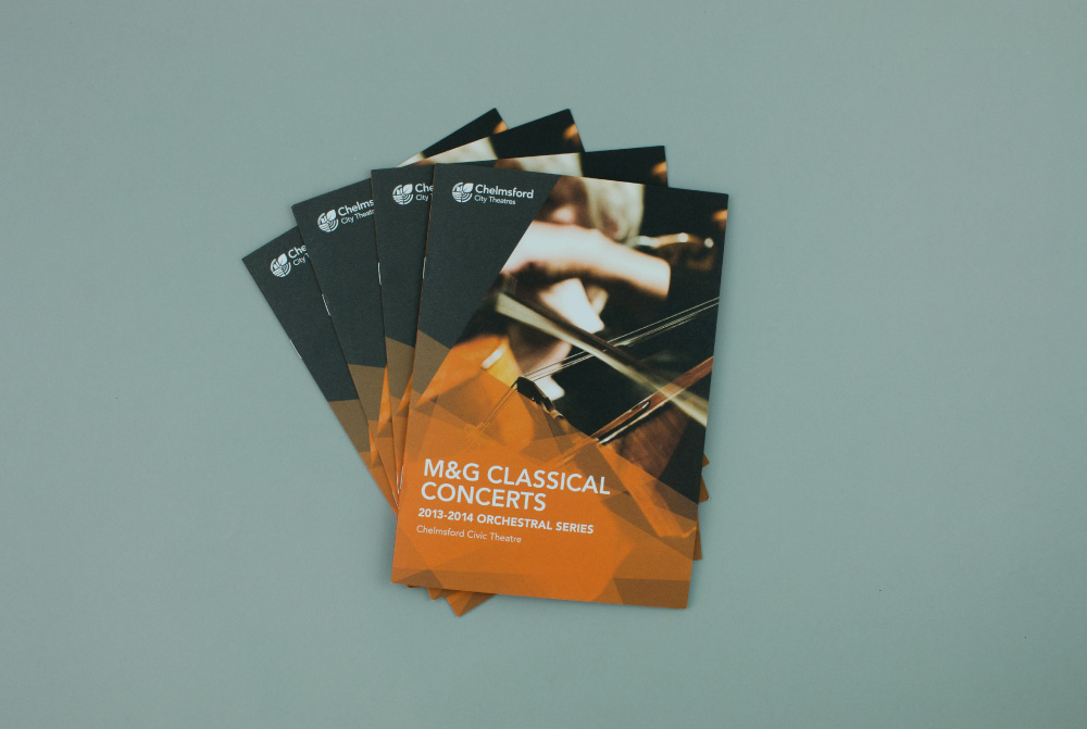 M&G Classical Concert Brochure Design