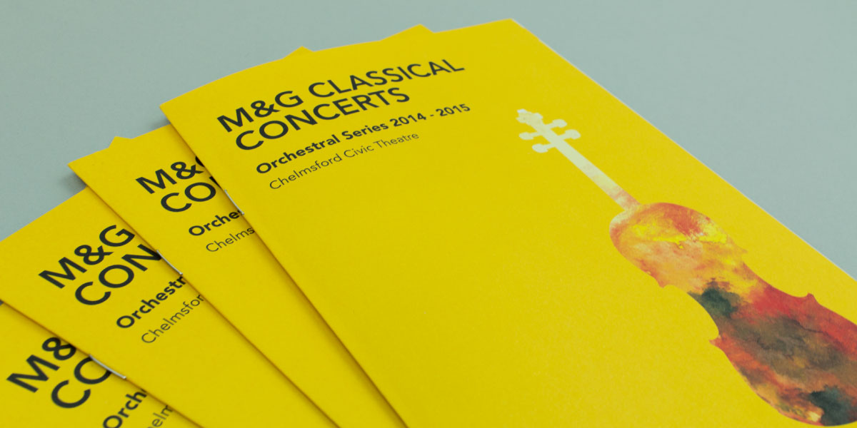 Modern Classical Brochure Design