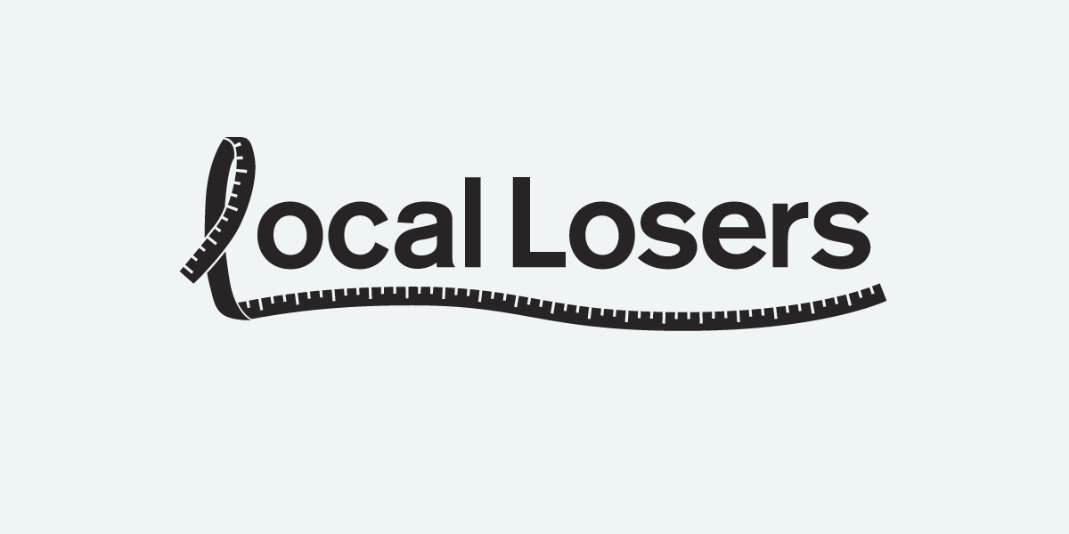 local-losers-logo-design-bw