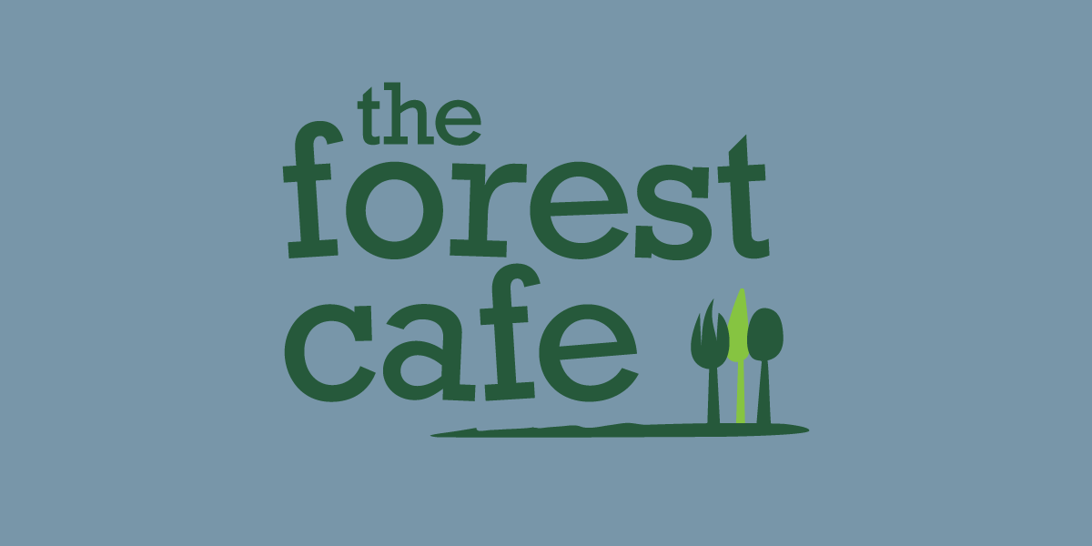 logo-design-forest-cafe-bw
