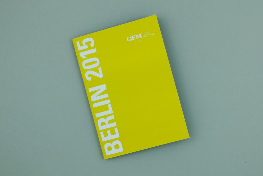 Film Brochure Cover for GFM Films