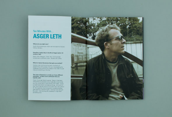 Brochure Design for GFM Films