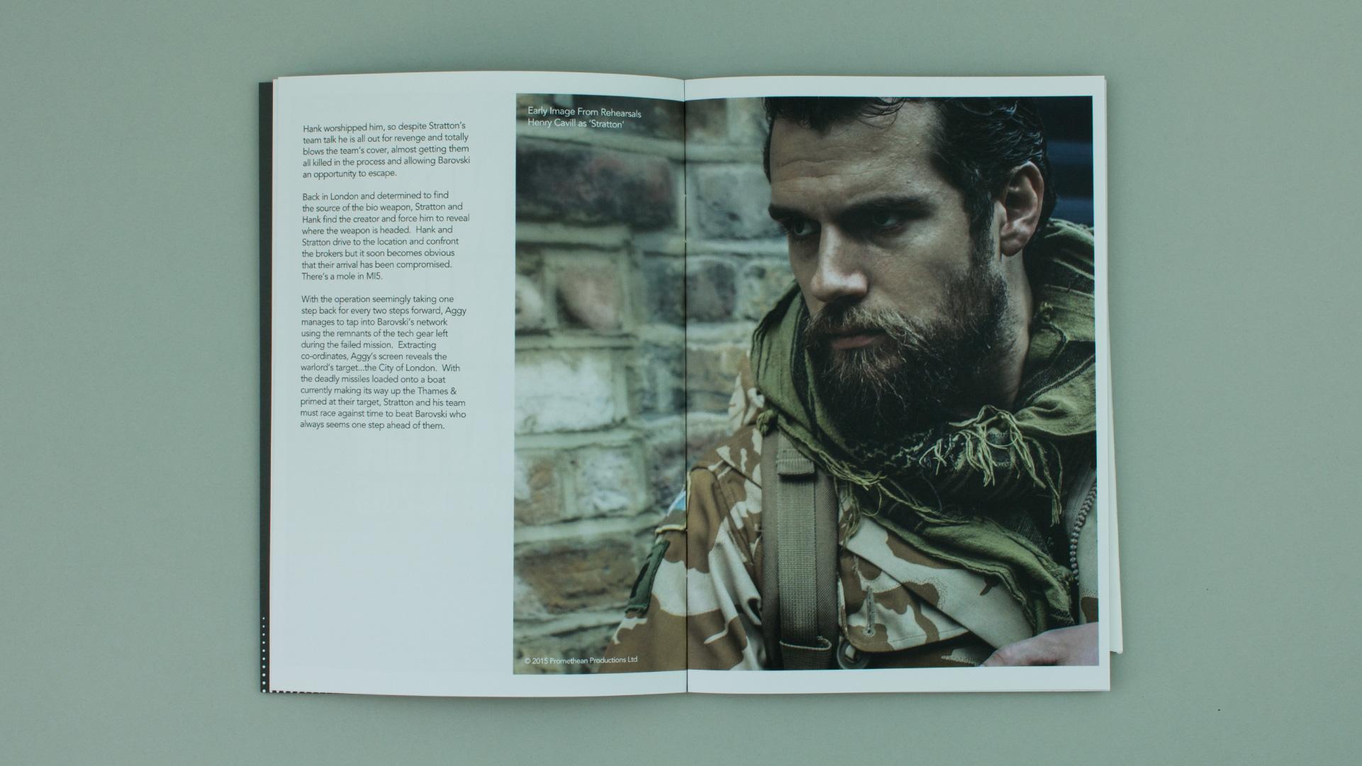 Film brochure for GFM Films