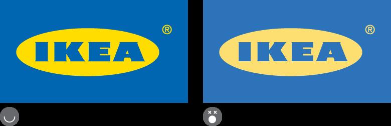 Ikea Branding Colours