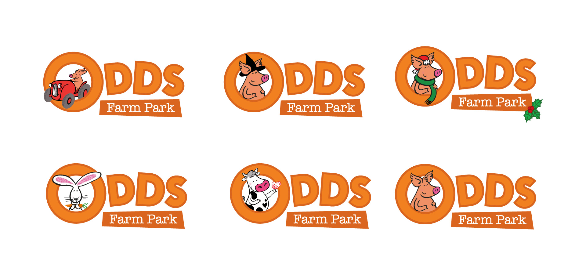 Logo Design Children's Farm Park
