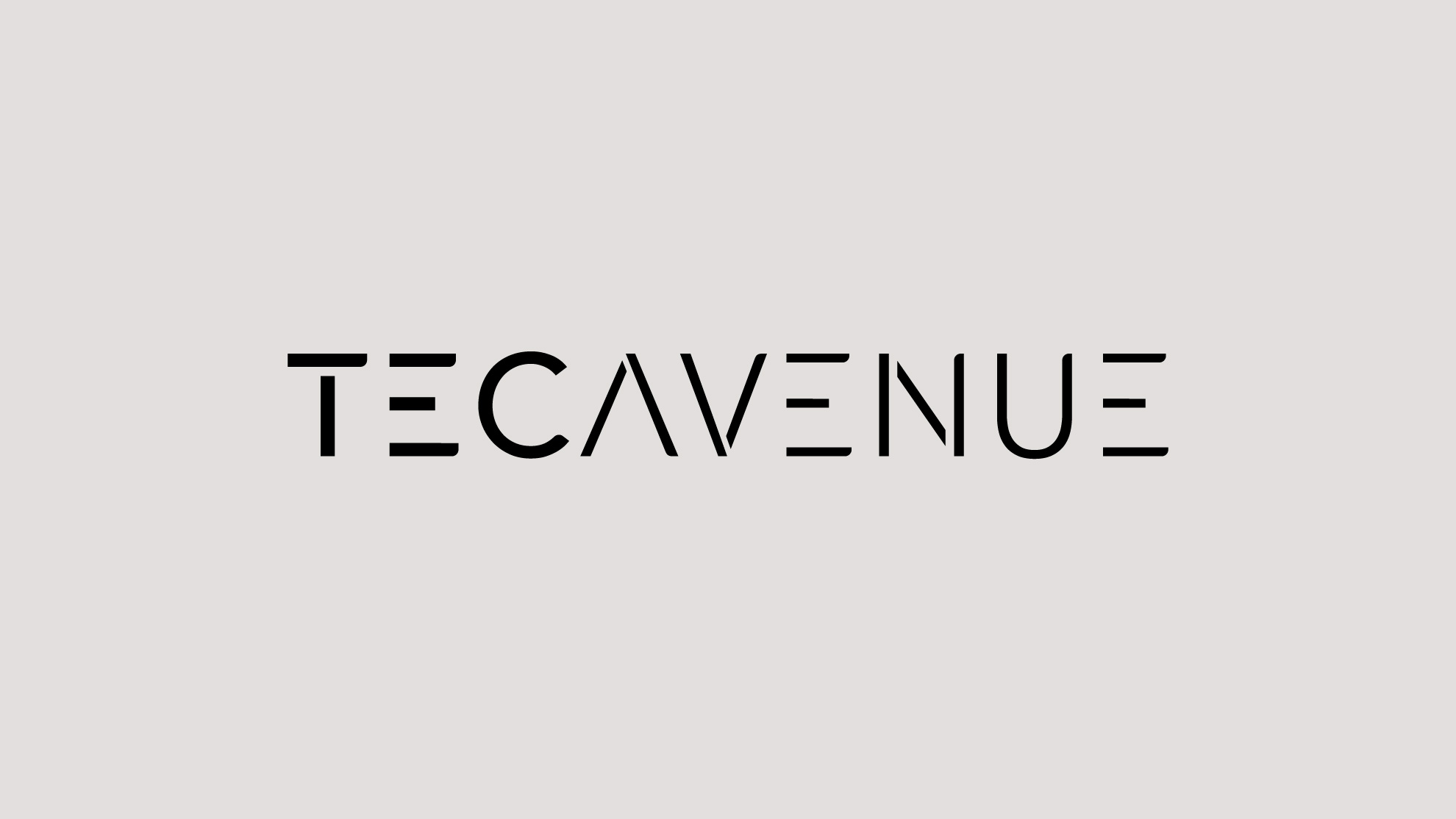 Branding Technology Logo TecAvenue
