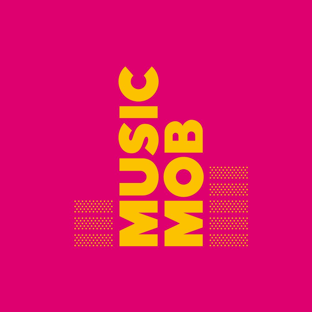 Music mob logo deisgn