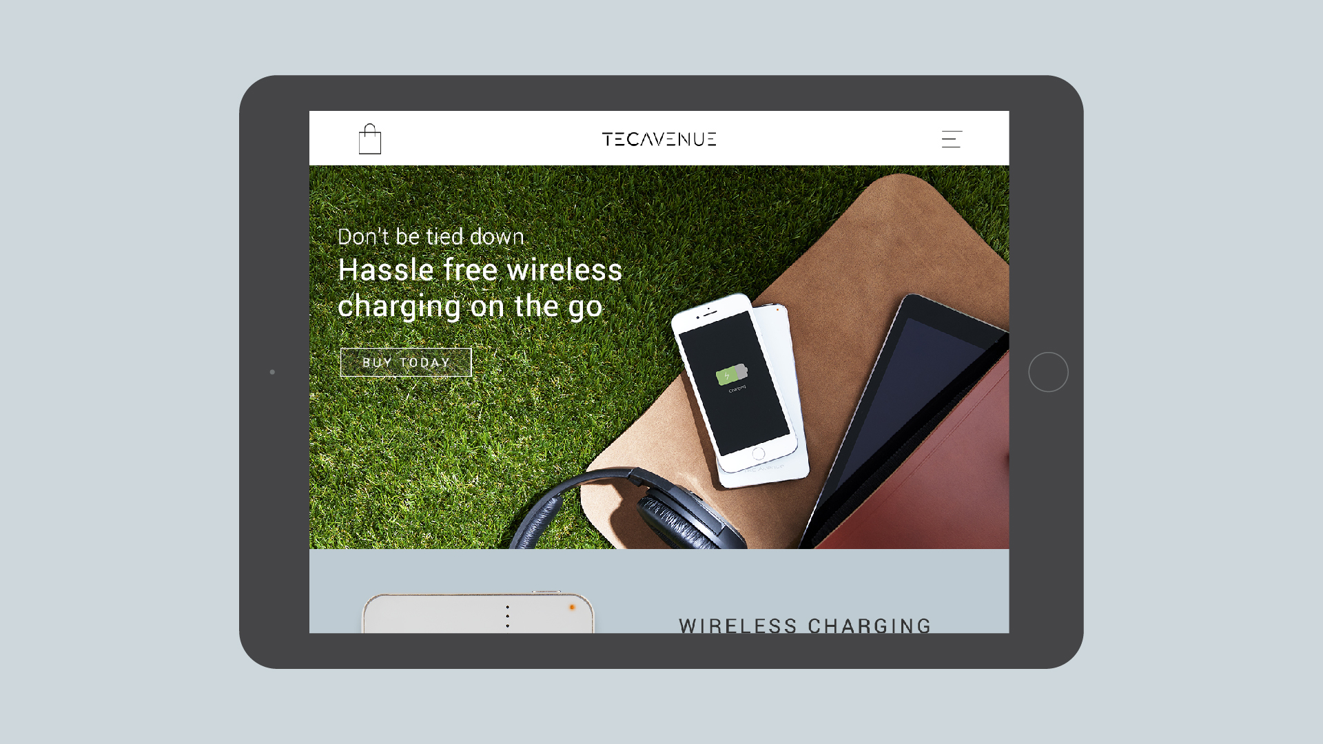 Technology Branding TecAvenue Website