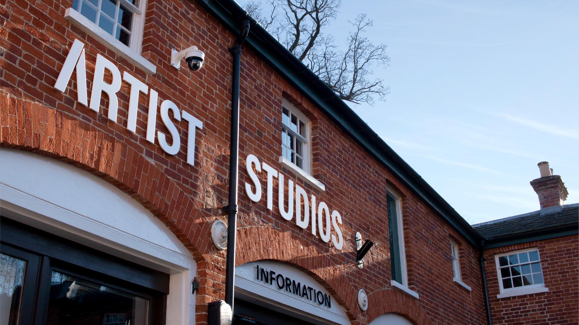 Artist Studios Hylands Estate Brand Identity