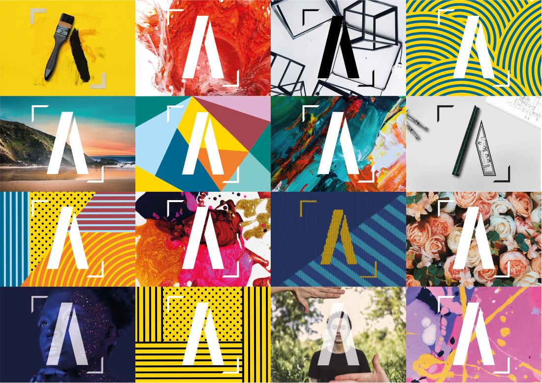 Modern Logo Design Artist Studios