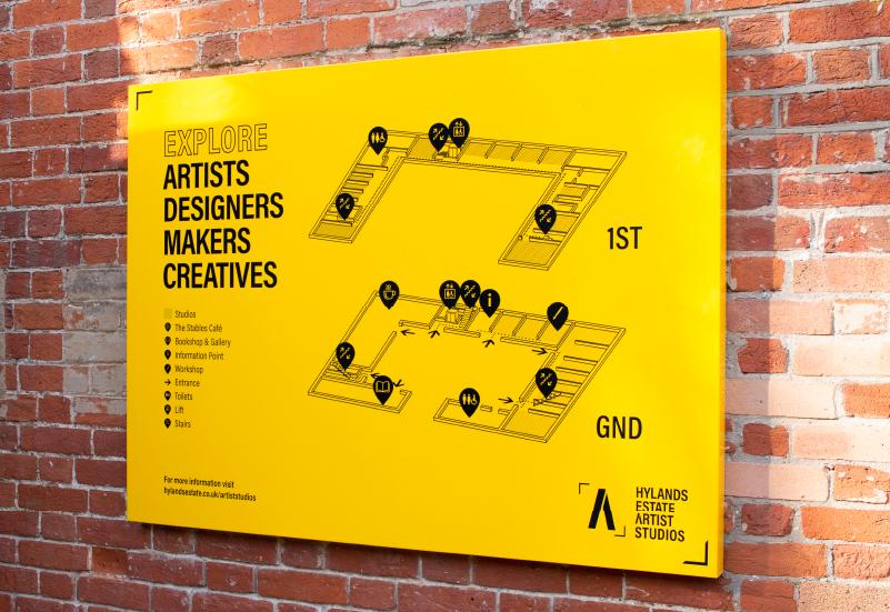 Signage Design Artist Studios