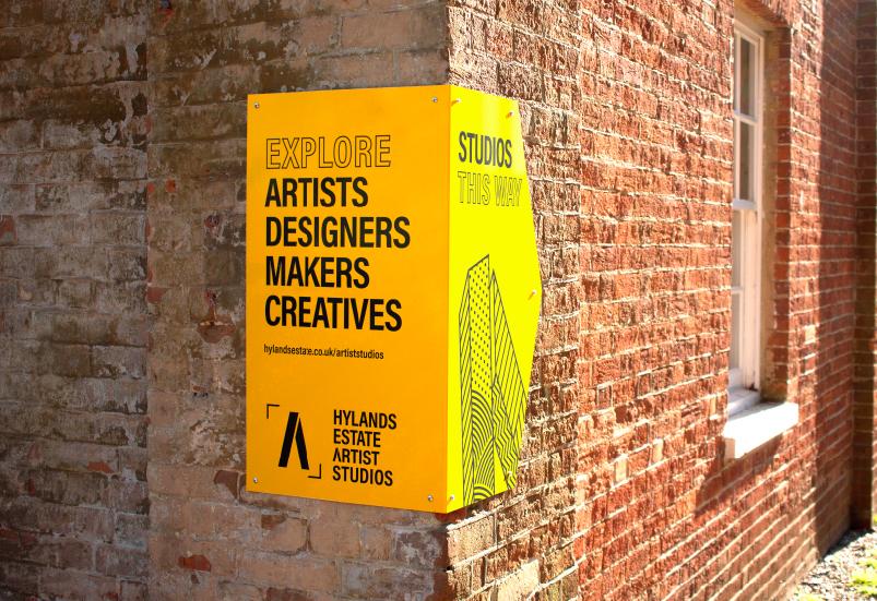 Wayfinding Design Artist Studios