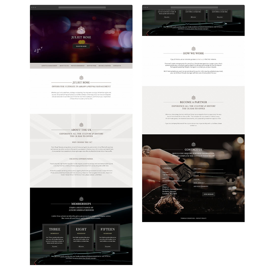 Luxury Website Design - Essex