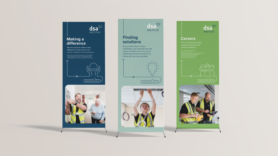 DSA Electrical Rebranding