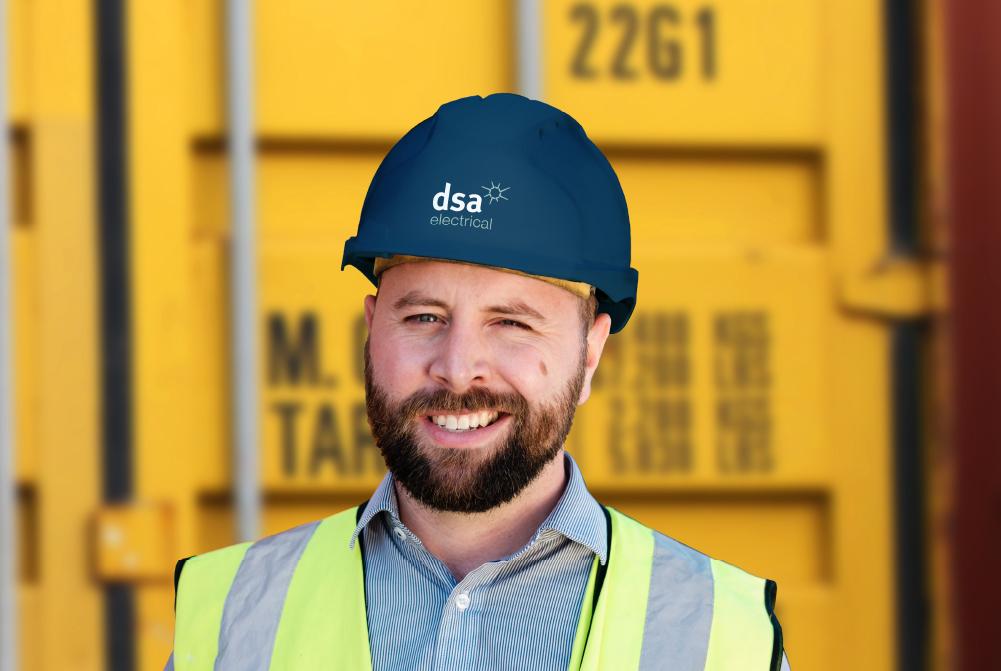 DSA Electrical contractor branding thumbnail
