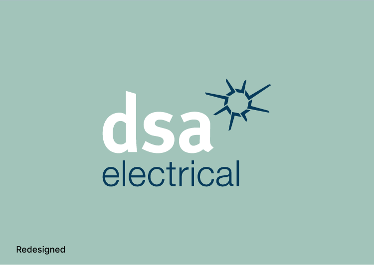 New logo design DSA Electrical